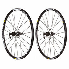 "Mavic Crossride CR 26"" 27.5"" 29"" 6-Bolt Disc Mount Wheelset Front 9mm 15mm"