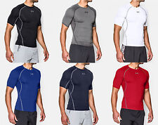 Under Armour Mens UA Sonic Heatgear Short Sleeve Compression Shirt - Workout T