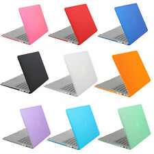 """Frosted Hard Case Cover Shell Matte for Apple Macbook Pro Retina 13"""" 15"""" Laptop"""