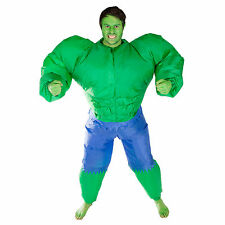 INFLATABLE HULK ADULT FANCY DRESS COSTUME INCREDIBLE GREEN MAN HEN STAG OUTFIT