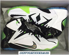 Nike Lebron 12 XII All Star 2015 White / Multi Color Black 742549-190 Elite