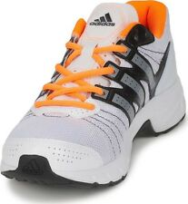 NEW adidas Performance Mens Roadmace Running Shoes D66473 White Grey Solar  Zest