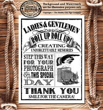 Vintage Style Wedding Sign~Photobooth Photographer Photos~BUY ANY 2 GET 1 FREE!