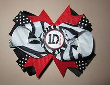 One Direction Hair Bow Infant Toddler Teen With or W/O Headband *SHIPS FREE