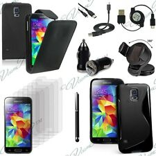Lot 13 Etui Coque Simili Chargeur support voiture Samsung Galaxy S5 Mini G800F