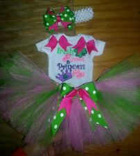 Irish Princess St. Patricks Day tutu outfit, preemie-6, customizable