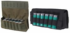 Rothco 18-Round Shotgun Shell Ammo Pouch - Black or OD Polyester Hunting Pouches