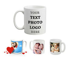 Personalised Mug Cup 11OZ with your Photo and Text Coffee Tea Birthday Gift