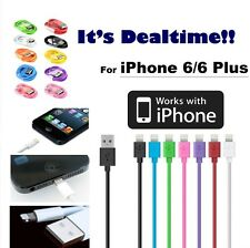 New For Apple iPhone 6 6 Plus USB Lightning Cable Charger Data Sync iPhone 5 5s