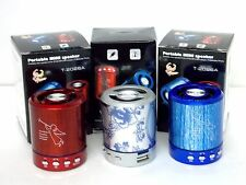 Portable Min Speaker For i Pod Mp3 Mp4 Player ,Po & Mobile Phone With Bluetooth