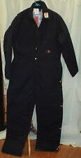 NEW CARHARTT NOMEX FRRQ9 BLUE FLAME RESISTANT COVERALLS