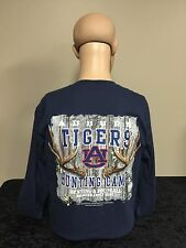 Auburn Tigers Hunting Camp youth long sleeve t-shirt navy