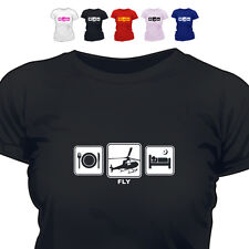 Helicopter Pilot Gift T Shirt Fly Daily Cycle