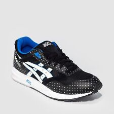 "Asics H4A0N-9007: ASICS GEL SAGA ""GLOW IN THE DARK"" BLACK/WHITE  MEN SIZE NEW"