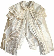 Baby Boy Christening outfit, Hand Made, (ropones para niño) Boys Gown, 100% silk