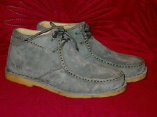 BNIB MENS GREY SUEDE HUSH PUPPIES SAVANNA LACE UP ANKLE BOOTS FROM THE1958 RANGE