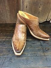M4878 Lucchese, Western Mule, Whiskey, Womens, Boot