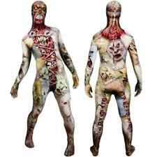 The Facelift Walking Zombie Halloween Costume Morphsuit Gory Dead Faces Adult