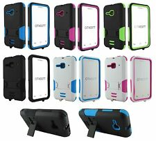 For Alcatel One Touch Evolve 2 4037T Heavy Duty Hard Hybrid Stand Case Cover