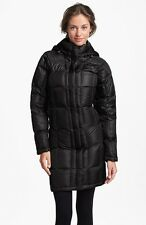 The North Face Womens Metropolis Quilted Down Parka 550 Black