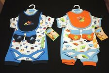 bon bebe Baby Boys 4 Piece Outfit Size 3-6, 6-9 Months NEW!