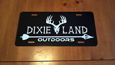 Bow Hunter License plate,archery,broad head,Deer skull,hunting,compound,Dixie