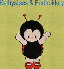 Lady Bugs - Machine Embroidery Designs Set of 10 On CD