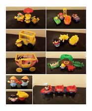 fisher price little people bus car figures boy swing plane train and driver