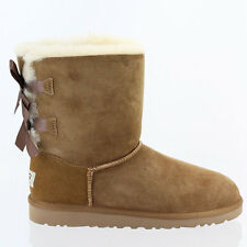 UGGS KIDS BAILEY BOW BOOTS 3280K/3280Y IN CHESTNUT