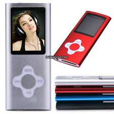 """8GB Slim Mp3 Mp4 Player With 1.8"""" LCD Screen, FM Radio,Video,Games&Movie 4 Color"""
