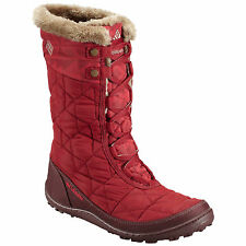 COLUMBIA WOMENS MINXS MID II INSULATED OMNI HEAT WINTER BOOTS NWT WARM!!