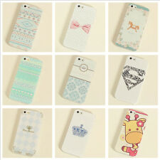 Various Cute Pattern Girls style Phone Hard Case Cover Skin For  iPhone 5 5S