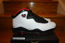 2015 Nike Air Jordan 10 X Retro DOUBLE NICKEL White Black GS & MEN'S SZ: 4y-14
