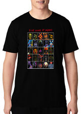 Custom Faces of Death Five Nights at Freddy's Fan Black Adult or Kids T shirt