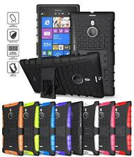 TPU Hybrid Impact Armor Rugged Box Case Cover Stand For Nokia Lumia 1520 +Stylus