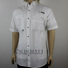 "NEW MEN'S COLUMBIA PFG ""Bonehead"" SHORT SLEEVE FISHING SHIRT NWT."