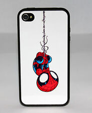 NEW BABY SPIDERMAN BLACK PHONE CASE COVER SKIN FOR IPHONE 6S 6 PLUS 5 5S 5C 4 4S