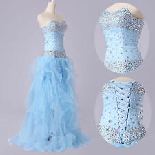 FAIRY TALE Long WEDDING Formal Ball Gown Evening Quinceanera Party Prom Dresses