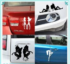 Sexy Angel/Devil, Sexy Silhouettes - Sexy Moto,Auto,Car Sticker + Free Shipping