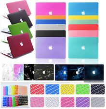 """Rubberized Hard Case&Keyboard Covers Shell for Macbook Pro 13""""15""""/Air 11""""13""""inch"""