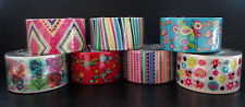 """NEW! Printed Duct Tape Rolls Colorful Spring Designs You Pick 1.89""""x15 feet"""