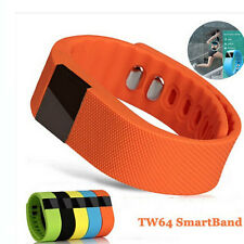 TW64 Bluetooth Bracelet Watch Reminder Fitness Calorie Tracker for Android IOS