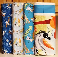 Disney Frozen Olaf Chillin in the Sunshine Fabrics by Springs Creative bty