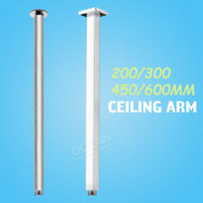 Brass Chrome Cubic 200/300/450/600mm Ceiling Shower Wall Arm Extension For Head