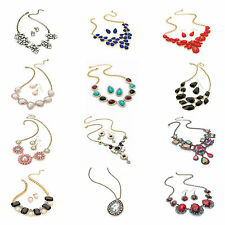 Statement Necklace Costume Fashion Jewelry - Various Sets - Shipped from the UK