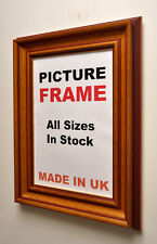 Mahogany Distress Picture frame, All Sizes|Picture Frame| Made in UK