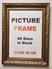 Antique Gold Picture frame 60mm wide, Square Sizes |Picture Frames|