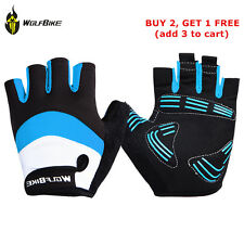 Outdoor Antiskid Gel Half Finger Gloves Bicycle Mountain Bike Cycling Riding New