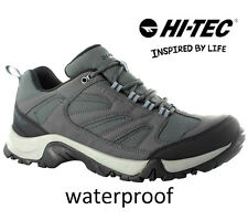 MENS HI TEC WATERPROOF WALKING CAMPING HIKING RAMBLING TRAIL TRAINERS BOOTS SHOE
