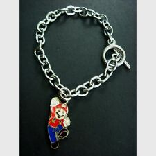 NEW Disney Princess Pixar Cars Spiderman Monster Metal Charms Pendant Bracelet